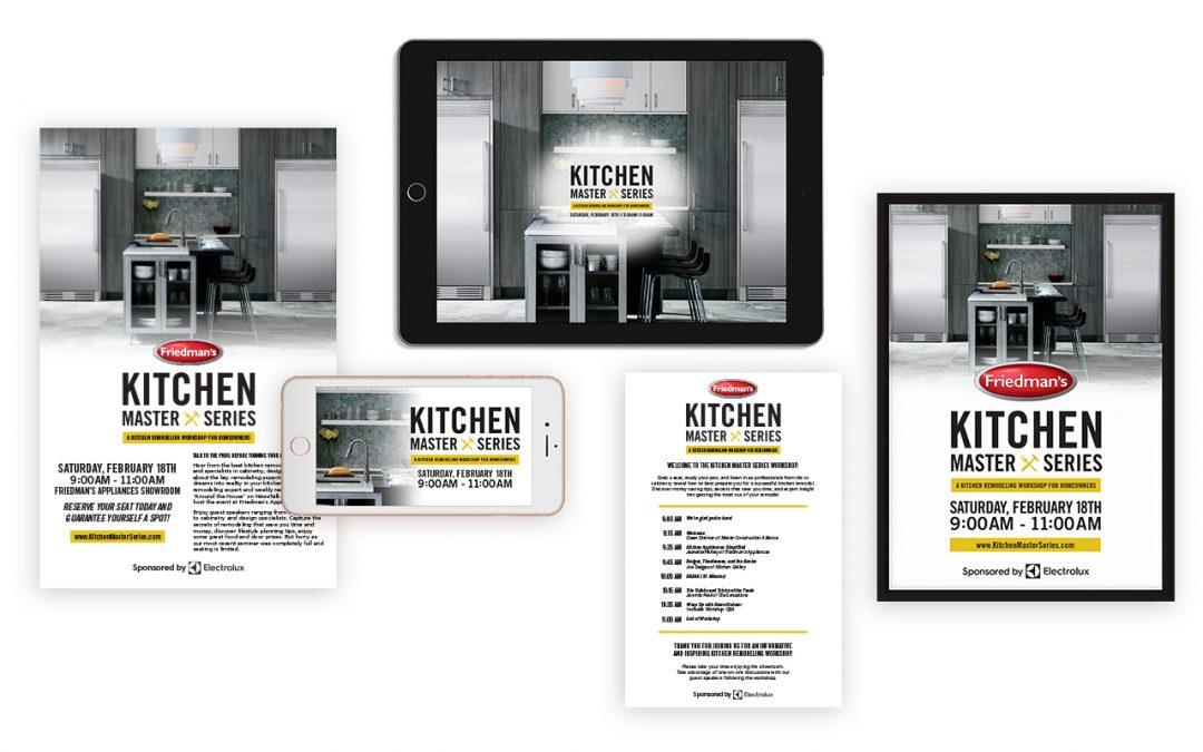 Friedman's Appliances Kitchen Master Series