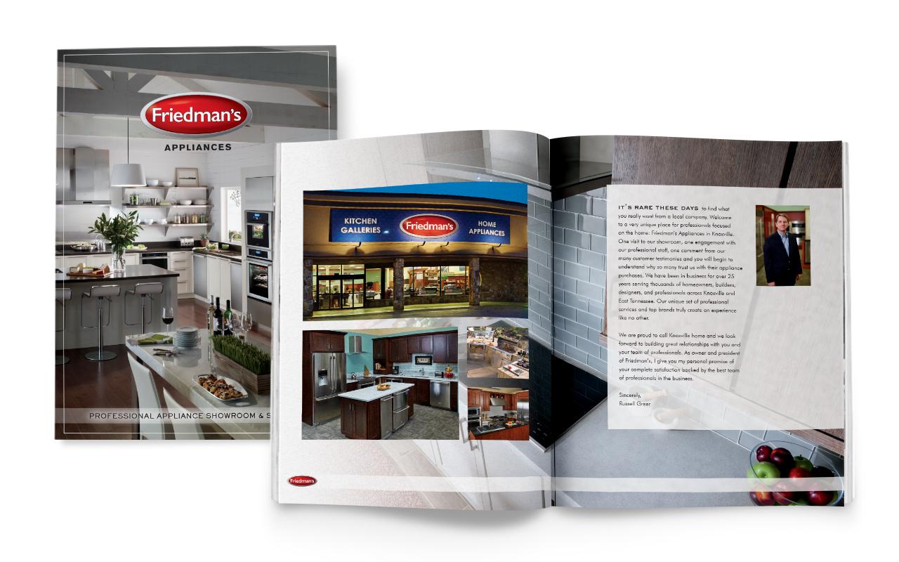 Friedman's Appliances Builder Book