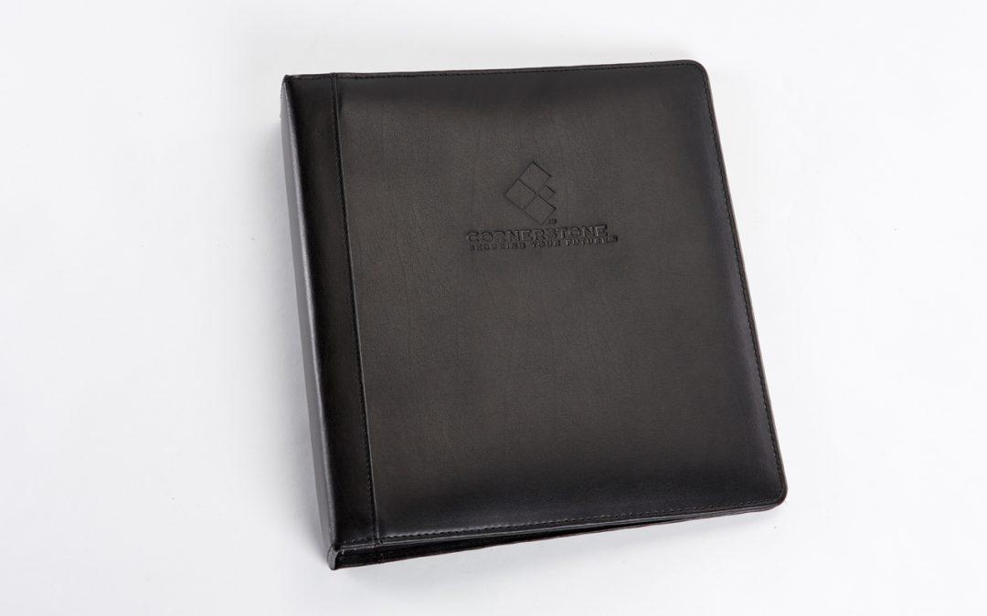 Cornerstone Leather Binder