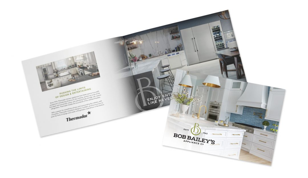 Open and closed brand booklet