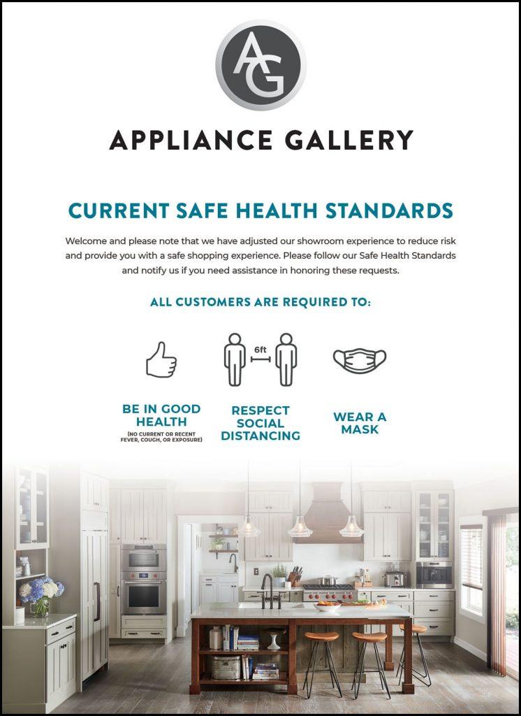 Safe Health Standards Poster