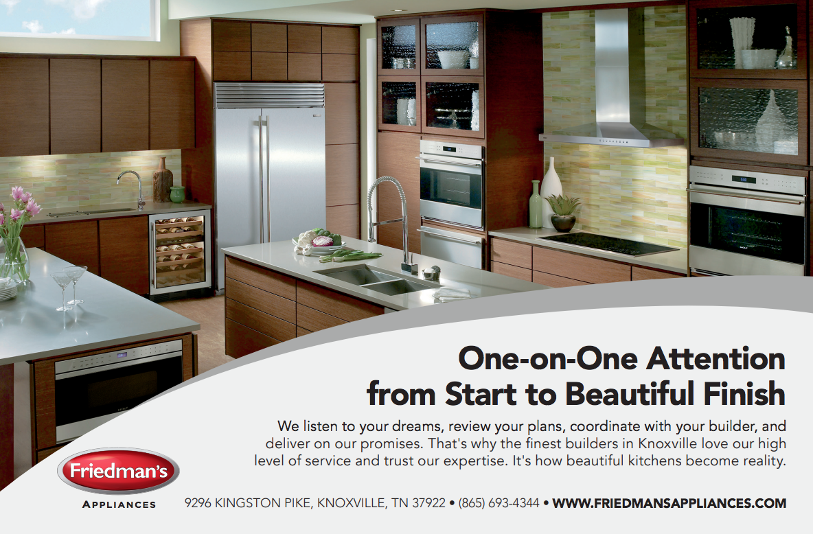Magazine Ad for Friedman's Appliances