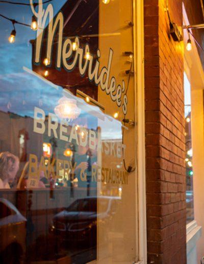 Merridee's Breadbasket Window