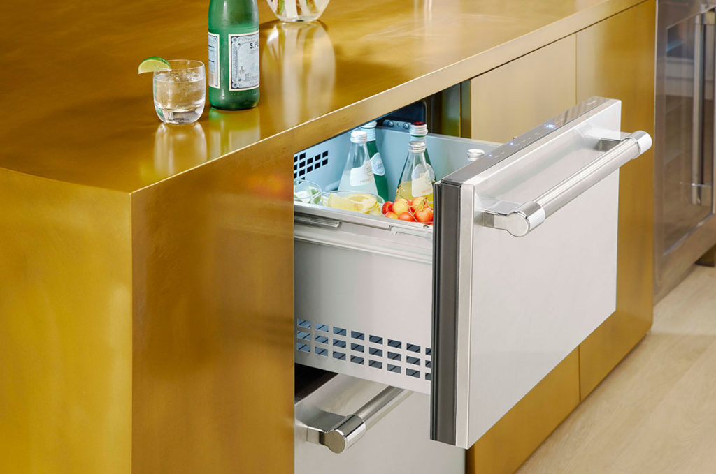 Thermador Under Counter Refrigerator Drawers